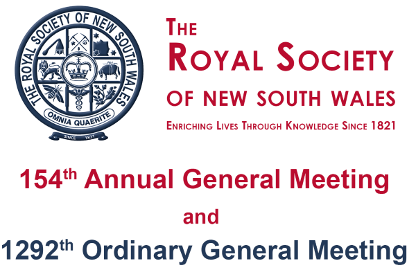 154th AGM and 1292th OGM and Open Lecture