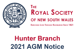 Notice of Hunter Branch Annual General Meeting 2021