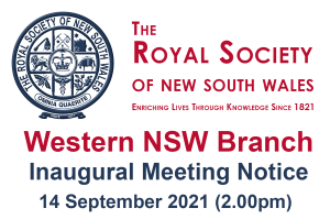 Inaugural Meeting to establish the Western NSW Branch of the Society